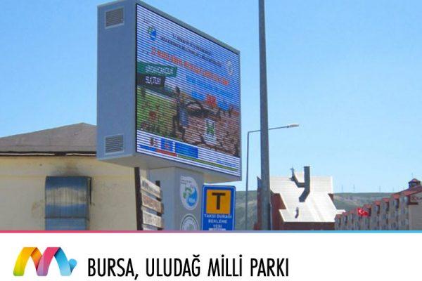 Bursa, Uludağ Milli Parkı Uludağ Bilgilendirme Ekranları