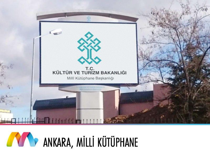 Ankara, Kültür ve Turizm Bakanlığı Milli Kütüphane Başkanlığı