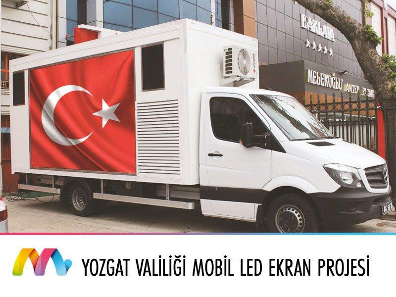 Yozgat Valiliği Mobil LED Ekran Projesi